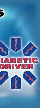 Diabetic Driver Car Window Decals Diabetic Driver Key Chains D A D Innovations