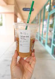 starbucks hack vietnamese iced coffee