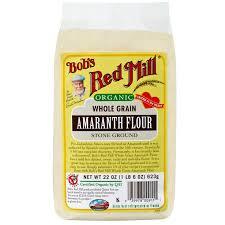 bob s red mill organic amaranth flour