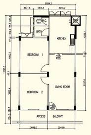 hdb history photos and floor plan
