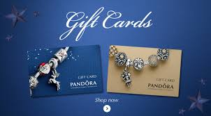 pandora charms gift card