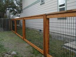 17 Awesome Hog Wire Fence Design Ideas For Your Backyard In 2020 Fence Design Wire Fence Panels Hog Wire Fence
