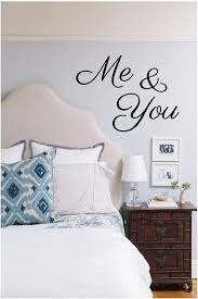 Me You Or You And Me Vinyl Decal Vinyl Wall Art Decal Etsy Pretty Bedroom Bedroom Decor Bedroom Design
