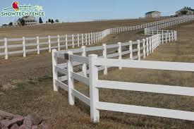 China 3 Rail Horse Pvc Plastic Fence China Horse Fence Pvc Fence