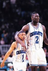Larry Johnson and Muggsy Bogues.....   Larry johnson, Basketball ...