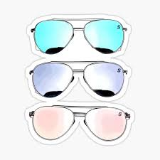 Ray Ban Stickers Redbubble