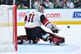 Arizona Coyotes give Adin Hill one-year extension - Five For Howling