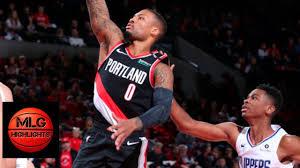 LA Clippers vs Portland Trail Blazers ...