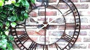 wall clocks oversize outdoor clock