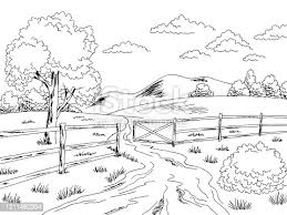 Rustic Fence Clipart Free Download