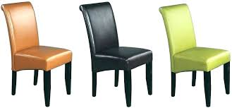 parson leather dining chairs