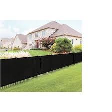Boen 6 Ft X 150 Ft L Black Polyethelene Chain Link Fence Screen In The Chain Link Fence Screens Department At Lowes Com