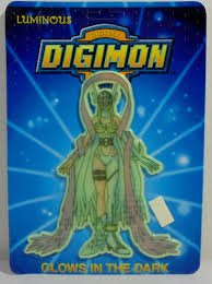 Digital Digimon Monsters Vtg 1999 Angewomon Wall Sticker Glows In The Dark Mosc For Sale Online