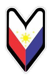 Find 2 Wakaba Leaf Philippine Flag Car Truck Vinyl Decal Sticker Jdm Drifting Drift Motorcycle In Marietta Georgia Us For Us 4 59