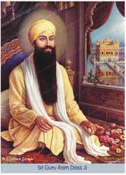 religious work art paintings guru ram das ji art work other
