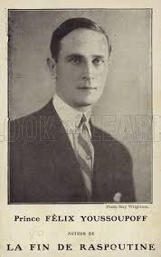 Prince Felix Yusupov, one of the murderers of Rasputin stock image | Look  and Learn