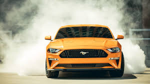 2018 ford mustang gt fastback front hd