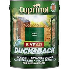 Johnstones Woodcare One Coat Shed Fence Paint Garden Outdoor Fencing Uv Protection Quick Dry 3 Year Life 9l Forest Green Amazon Co Uk Garden Outdoors