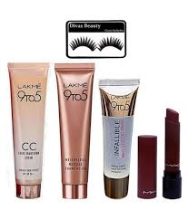 l a k m e 9to5 makeup kit combo pack of