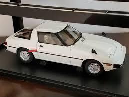 AutoArt MAZDA Savanna RX-7 SA 1/18 75982 Aurora White NEW in Box ...