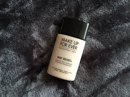 mat velvet plus matifying foundation