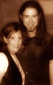 karen (myself) and Ross Childress ~ 1997 ... a loooong time ago ~ I looked  terrible, but he was such a hottie, and amazingly sweet… | Collective soul,  Hotties, Ross