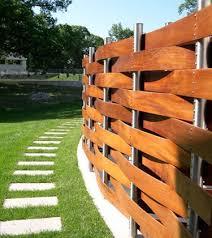 Crackle Garden Wood Fence Design Fence Design Backyard Fences