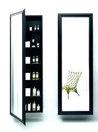 premium white mirror jewelry cabinet