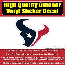 Houston Texans Vinyl Car Window Laptop Bumper Sticker Decal Colorado Sticker