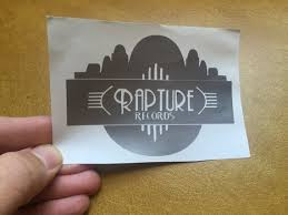 Bioshock Video Game Rapture Records Vinyl Sticker Decal Etsy