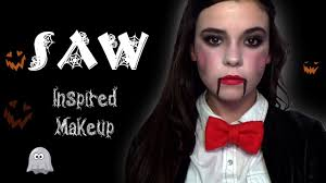 saw inspired makeup 2016