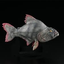 piranha prop replica model fiberglass