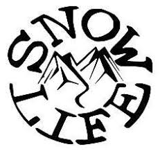 Snow Life Vinyl Car Laptop Window Wall Decal Mymonkeysticker Com