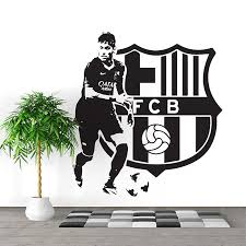 Fc Barcelona Neymar Jr Football Soccer Vinyl Wall Art Decal