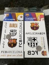 Fc Barcelona Barca Soccer Decal Sticker Car Truck Window Bumper Tattoos 2 Pc Lot Ebay