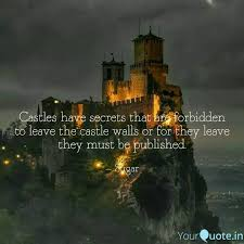castles have secrets that quotes writings by kim seulmi