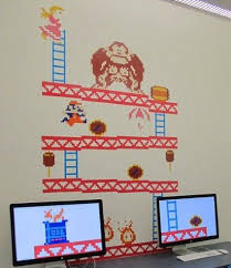 Donkey Kong Vinyl Decals Kids Room Wall Decals Kids Wall Decals Kids Room Wall Stickers