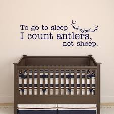 Wall Stickers Murals Rifles Racks And Deer Tracks Thats What Little Boys Are Made Of