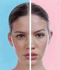 the makeup face lift