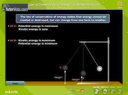 law of conservation of energy in a