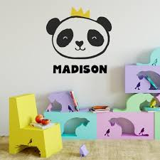 Royal Panda Wall Decal Labeldaddy