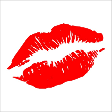 Lips Kiss Decal Sticker Car Decal Laptop Decal Choice Of Etsy
