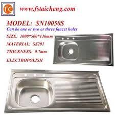 china size 1000x500mm single bowl