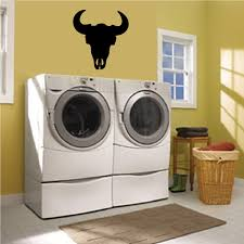 Bull Skull Wall Decal Vinyl Decal Car Decal 095