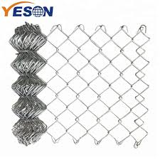 China Top Suppliers Portable Chain Link Fence Panel Chain Link Fence Galvanized Yeson Factory And Manufacturers Yeson