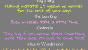 inspirational quotes disney movie memories infographic a day