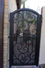 Custom Wrought Iron Gates Los Angeles Precise Iron Doors