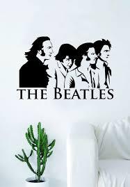 The Beatles Logo Decal Sticker Wall Vinyl Art Living Room Bedroom Deco Boop Decals