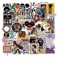 Hot Price 6e6f 50 100pcs Hot Black Lives Matter Stickers Feminism Decal To Diy Scrapbook Laptop Guitar Car Helmet Classic Toy Sticker Cicig Co