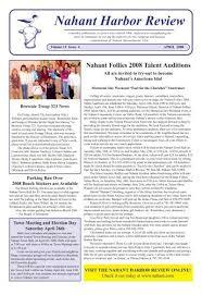 2008 APRIL.pmd - Nahant, Massachusetts USA